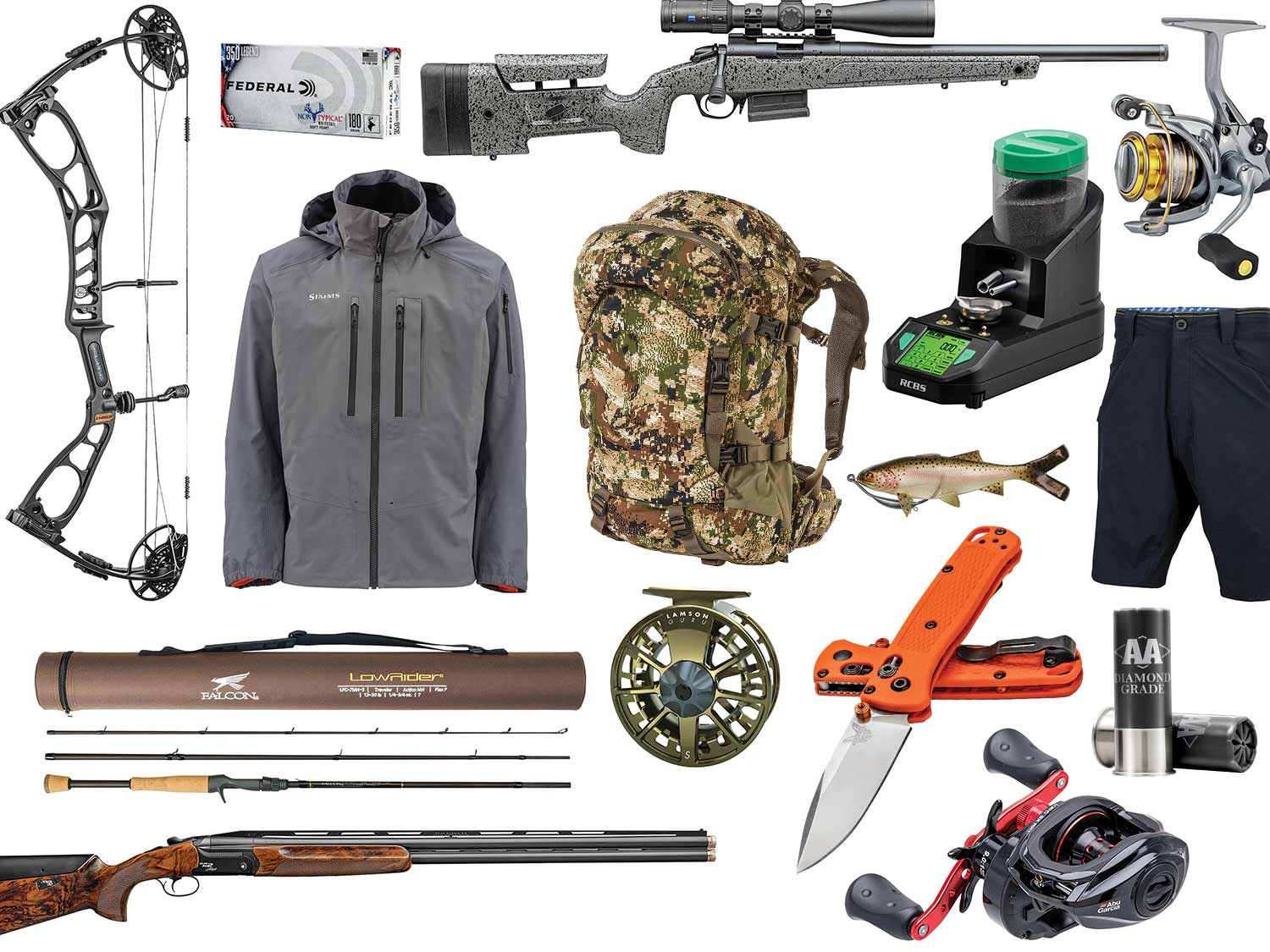 Best new hunting and fishing gear.