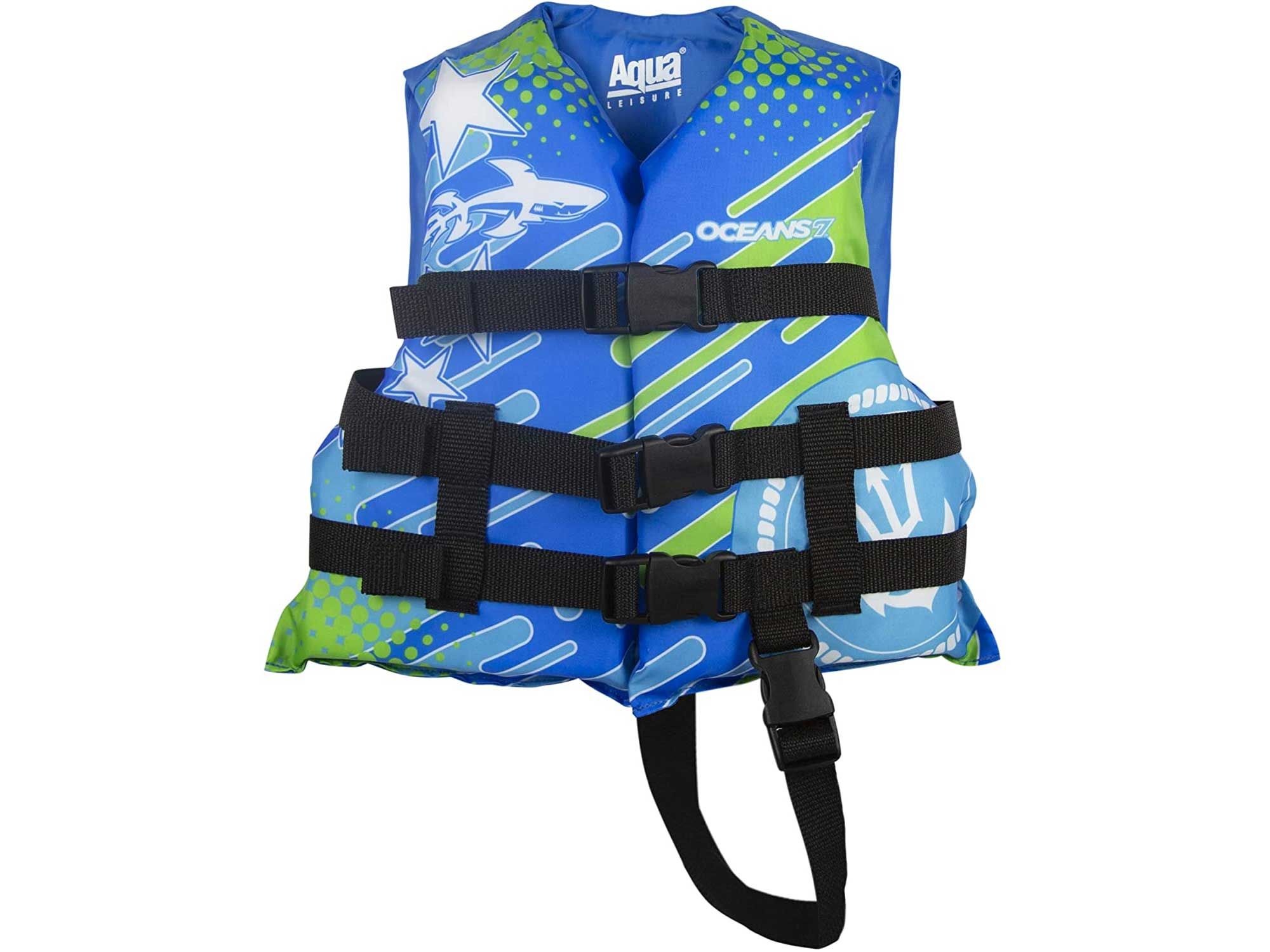 New & Improved Oceans7 US Coast Guard Approved, Child Life Jacket