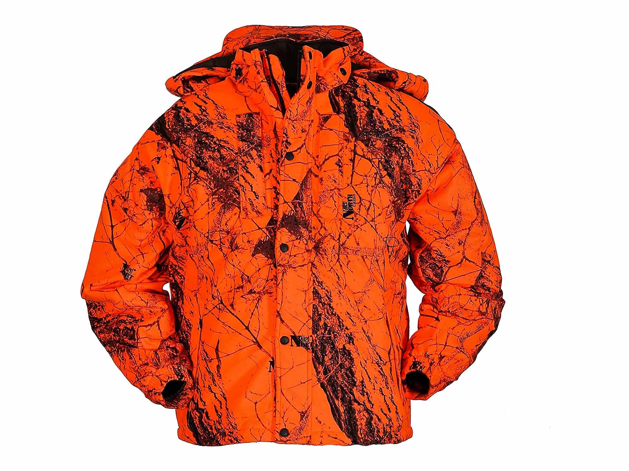 Gamehide Iceman Waterproof Fleece Blaze Orange Jacket