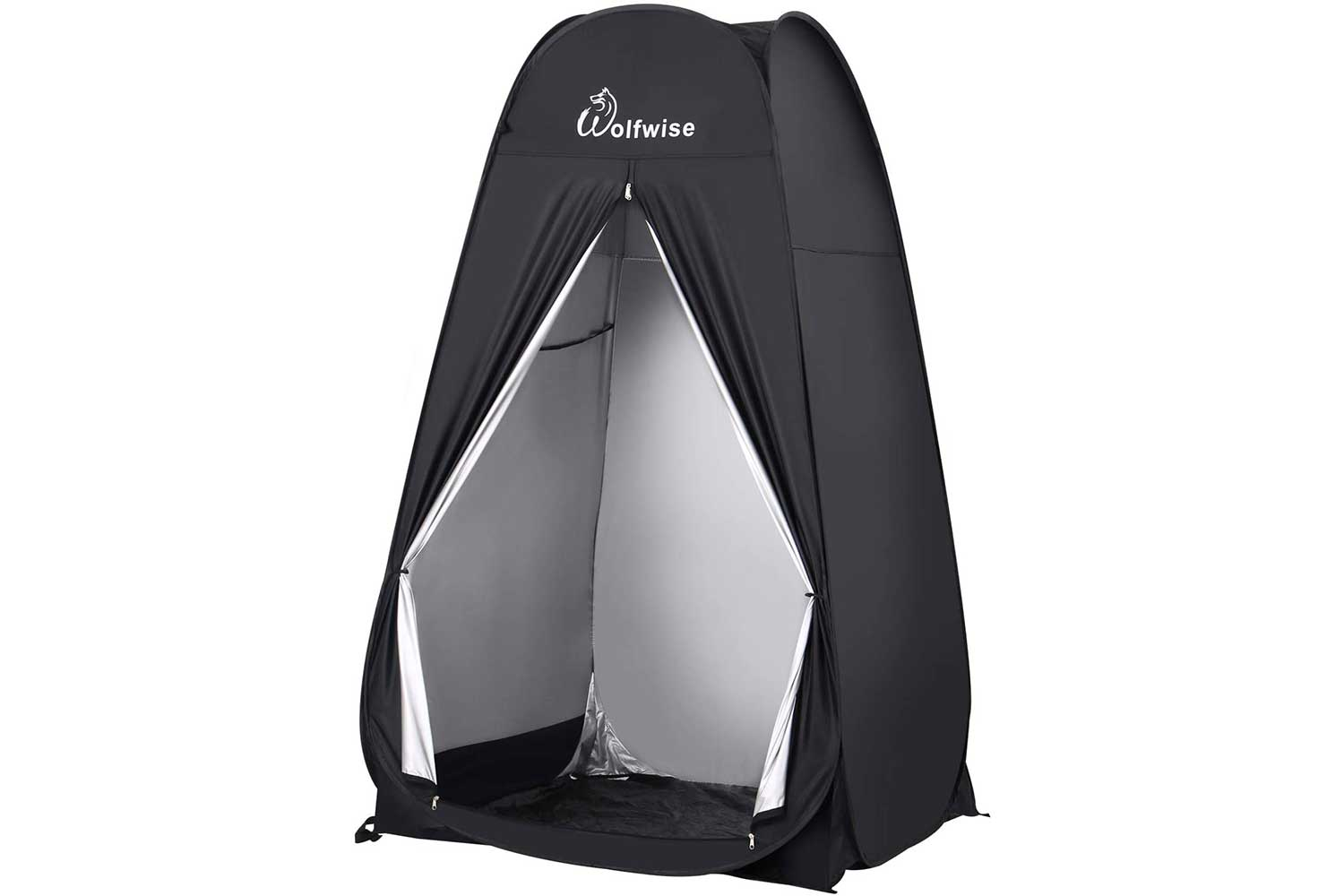 WolfWise 6.6FT Portable Pop Up Shower Privacy Tent