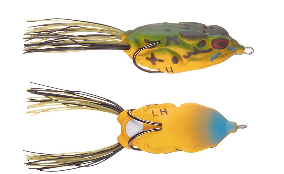 The Lunkerhunt Compact Frog in Blue Gill.