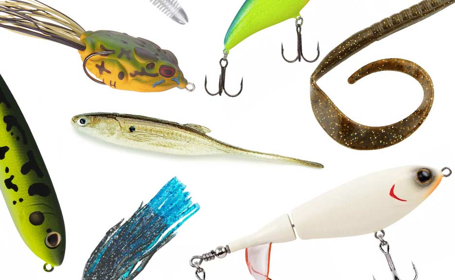 A handful of favorite summer bass baits from the pros we interviewed.