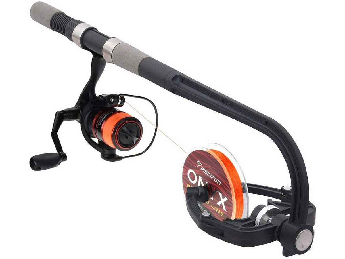 Piscifun Fishing Line Winder Spooler Machine Spinning Reel Spool