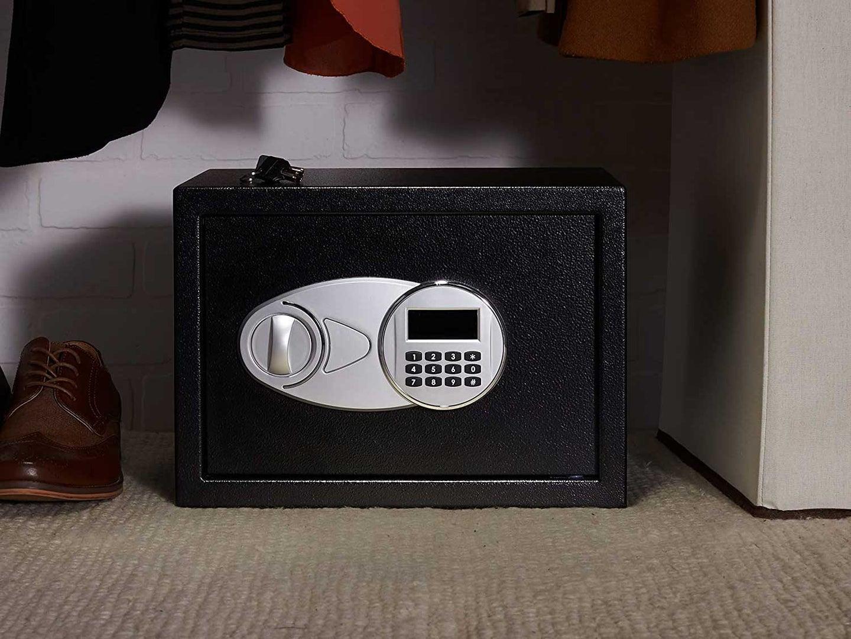 safe in a closet