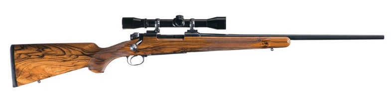 This custom pre-64 Model 70 Featherweight was made by Roger Bieson