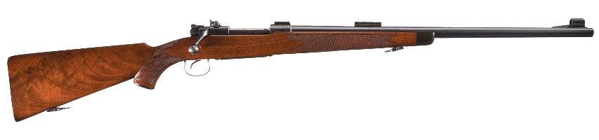 A rare Winchester Model 54 Deluxe Heavy Barrel, made in 1935.