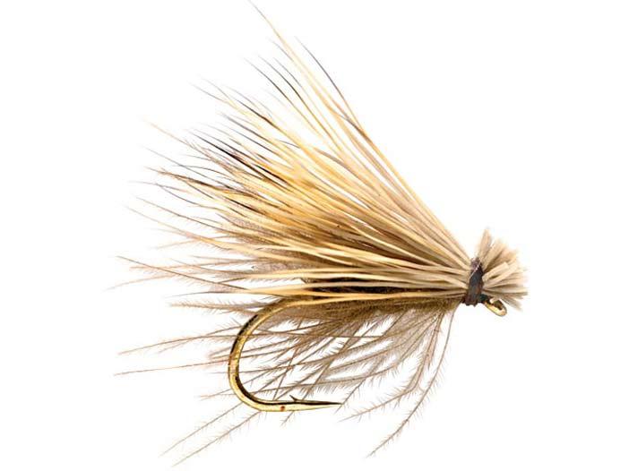 The Elk Hair Caddis fkittering fly.