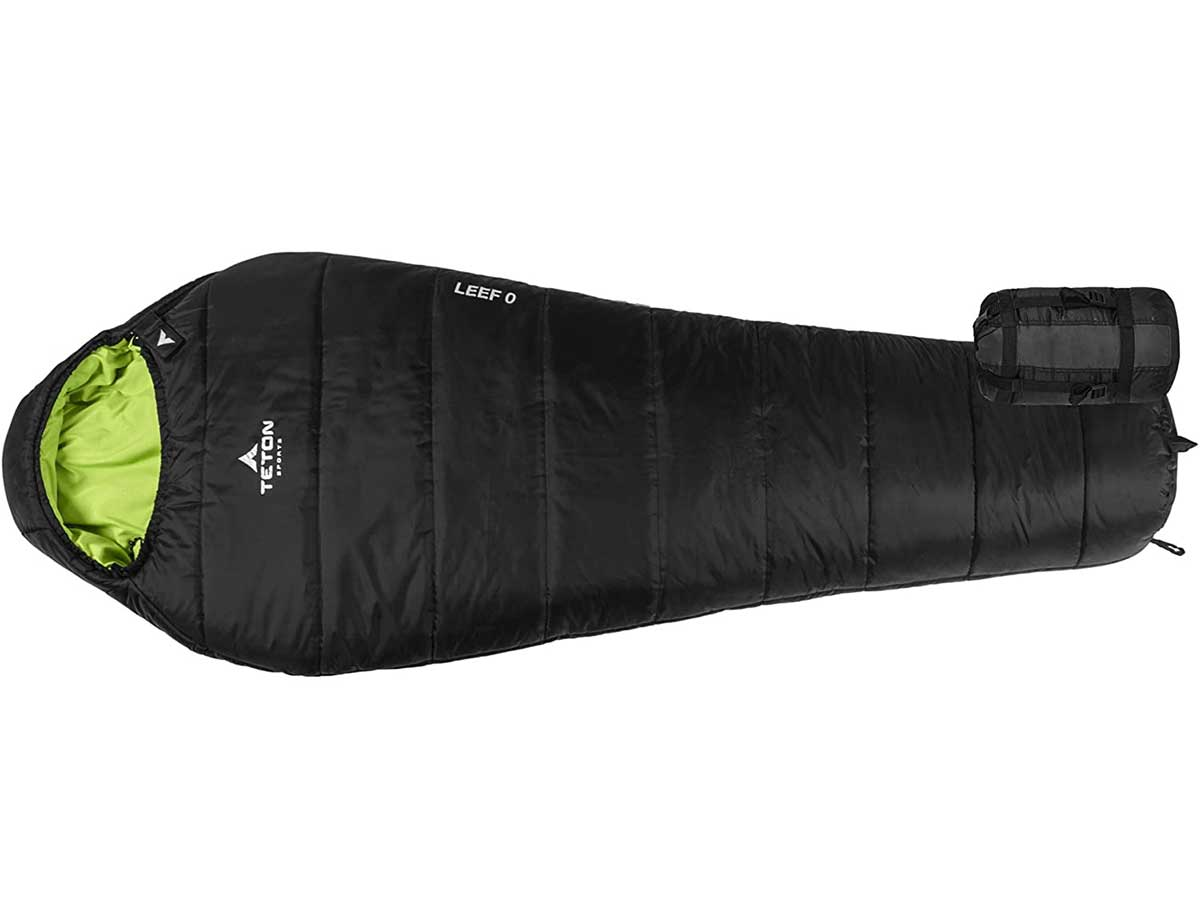 TETON Sports LEEF Lightweight Mummy Sleeping Bag