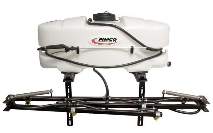 Fimco Industries ATV sprayer.