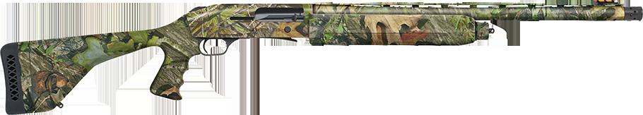 A Mossberg 935 Magnum turkey hunting shotgun.