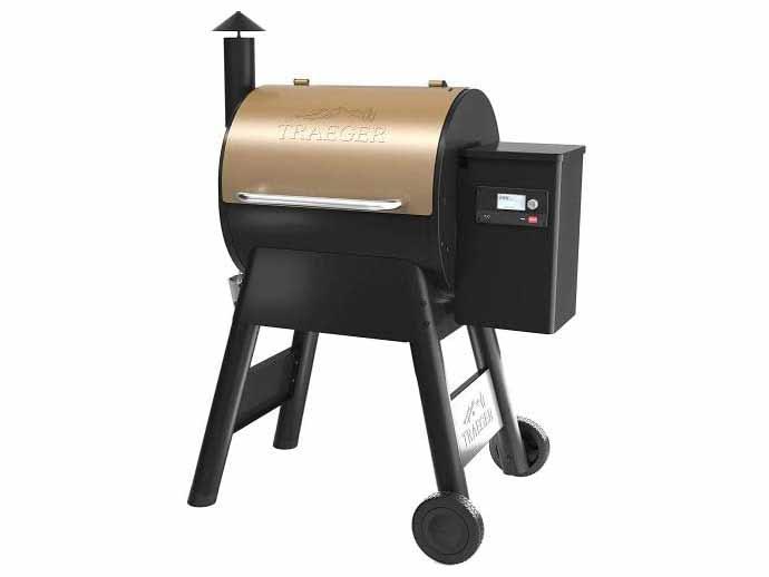 The Traeger Pro 575 Pellet Grill.