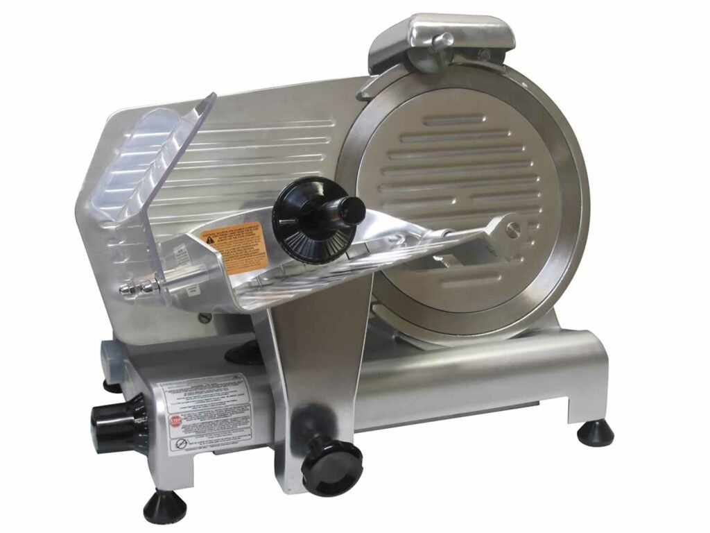 Weston Pro-320 10-inch Meat Slicer.
