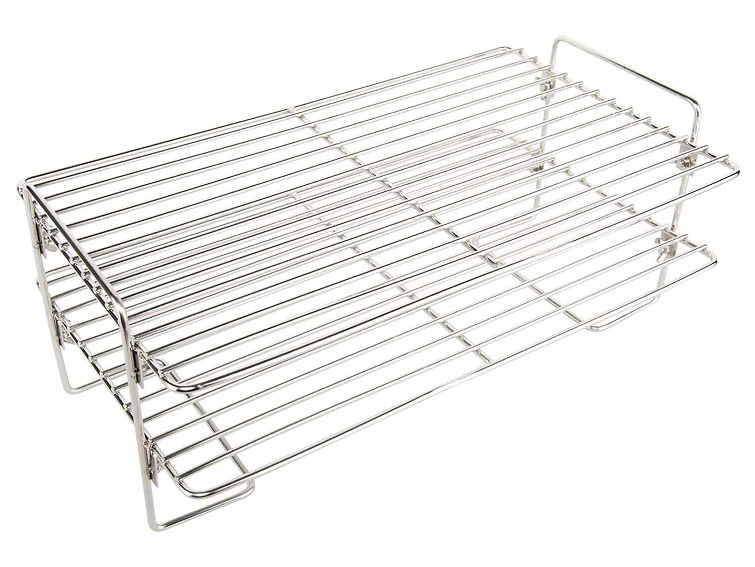 The Stanboil 17-inch stainless steel smoker shelf