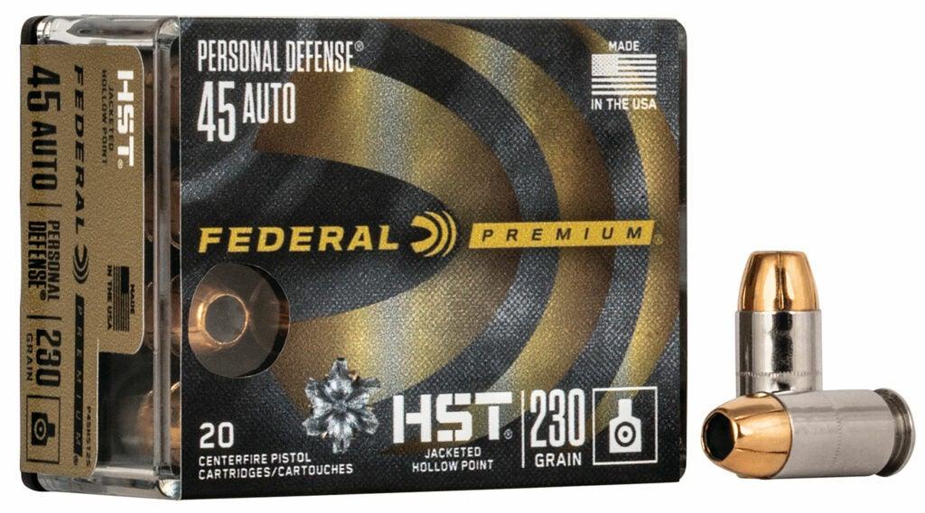 A box of Federal Premium box ammo.