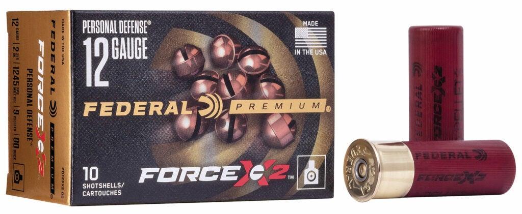 A box of Federal premium shotgun shells.