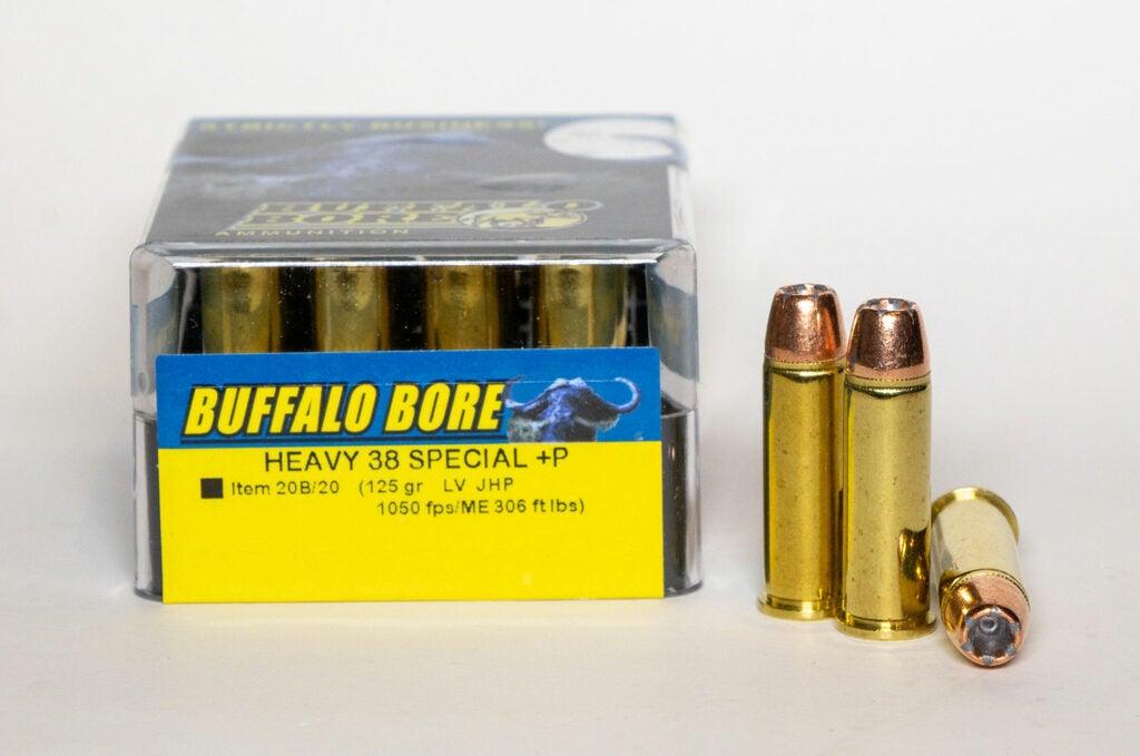 Buffalo Bore Heavy +P LV JHP in .38 Special