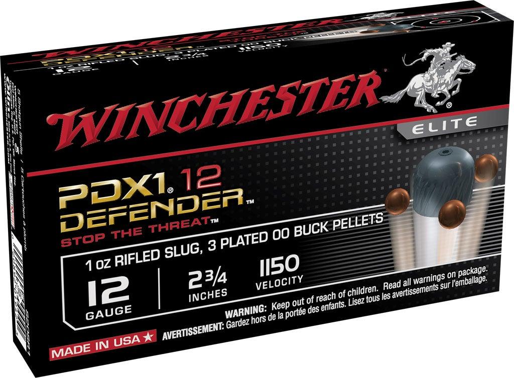 A box of winchester ammunition.