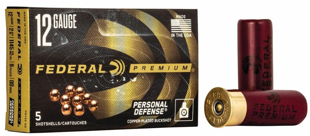 A box of federal premium personal defense ammo.