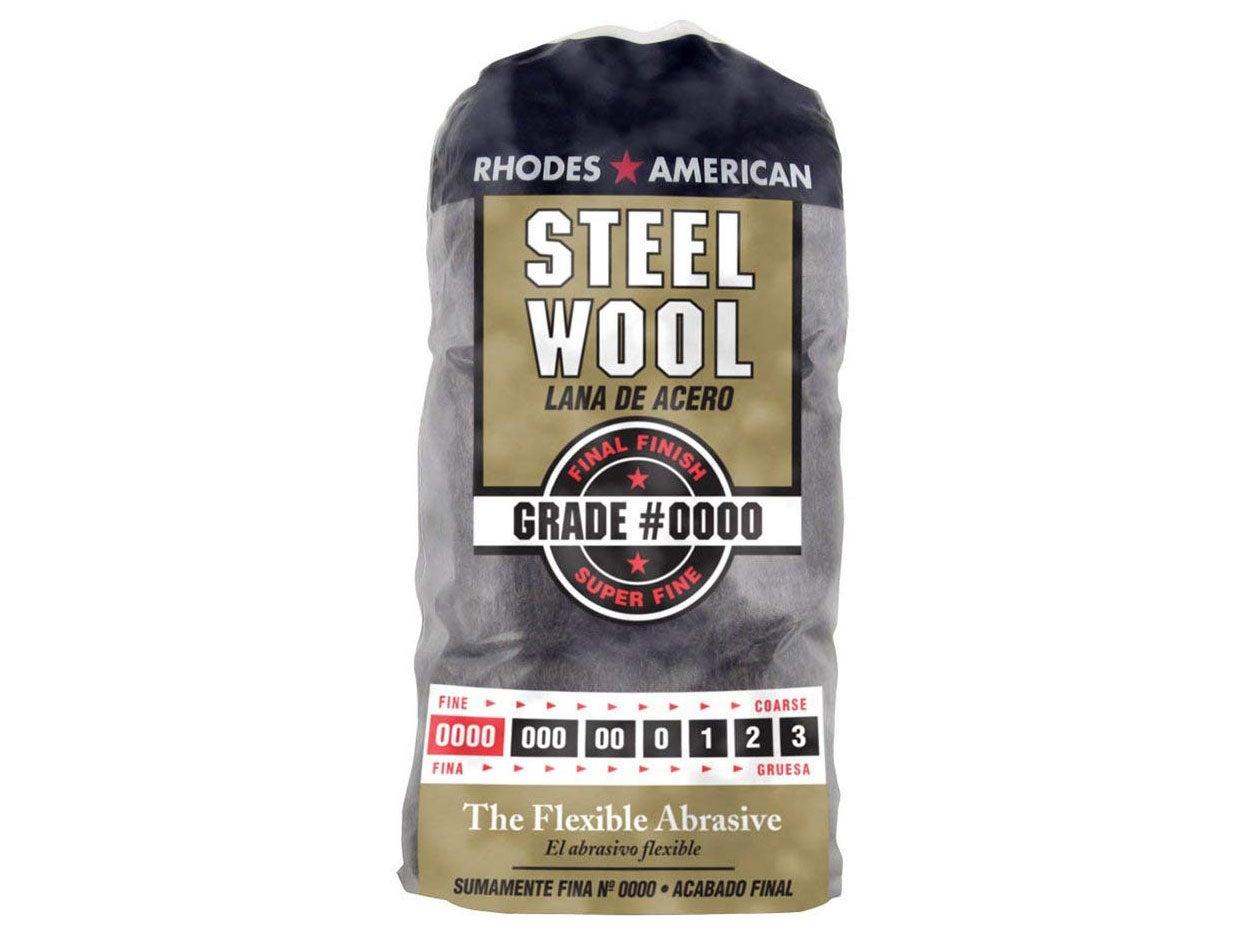 A bag of rhodes american steel wool.