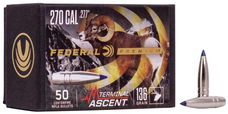 A box of Federal premium rifle ammo.