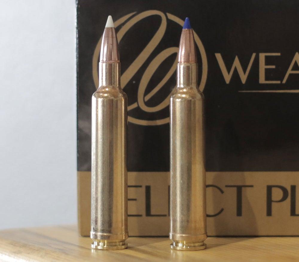 A box of rifle ammo.