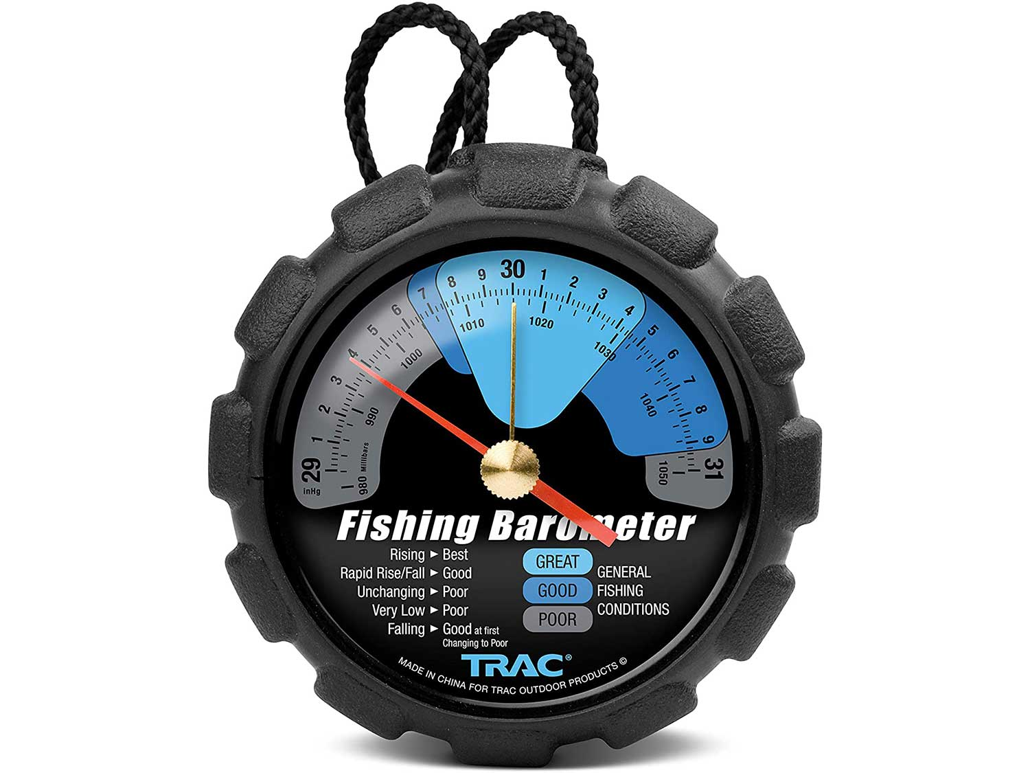 Trac Outdoors Fishing Barometer