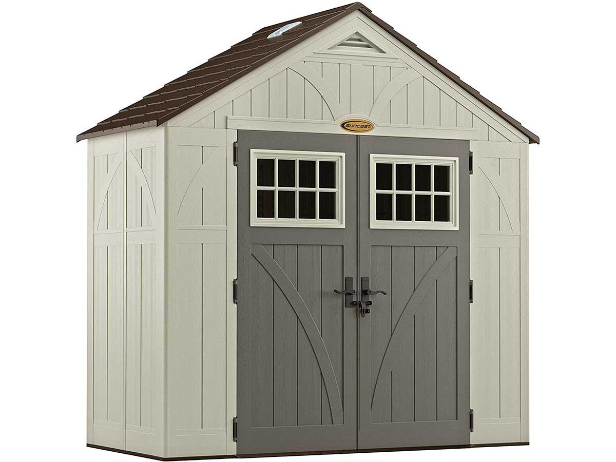 Suncast BMS8400D shed, 4' x 8'