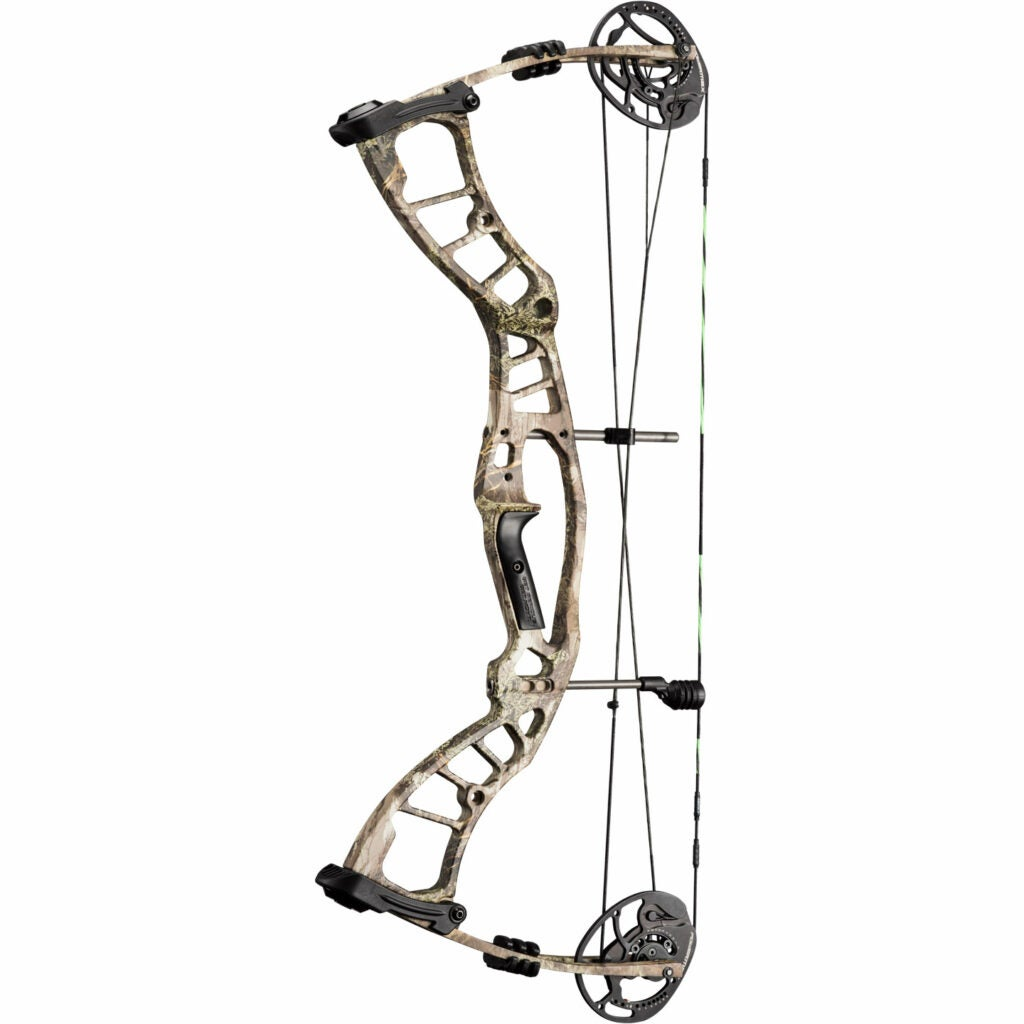 A Hoyt Powermax compound bow on a white background.