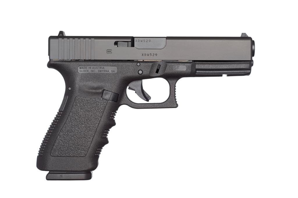 The Glock G20 Gen 3 10mm.