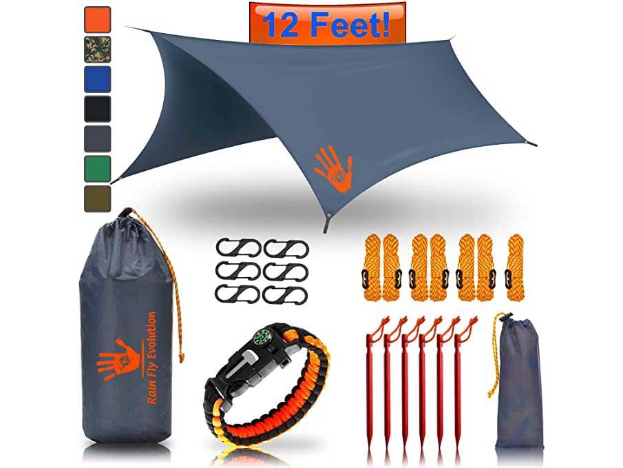 Rain Fly EVOLUTION 12x10/10x10 Hammock Waterproof Tent