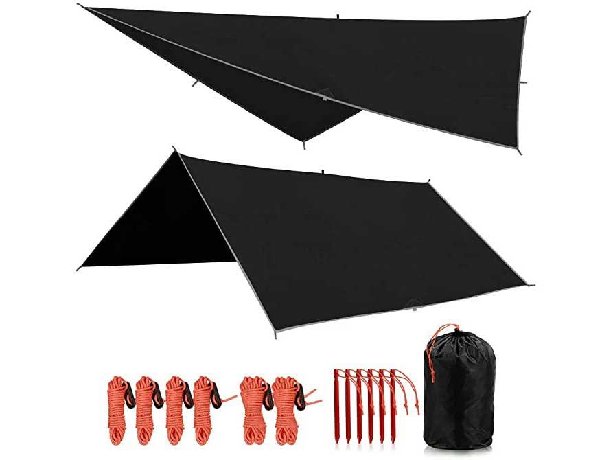 REDCAMP Waterproof Camping Tarp
