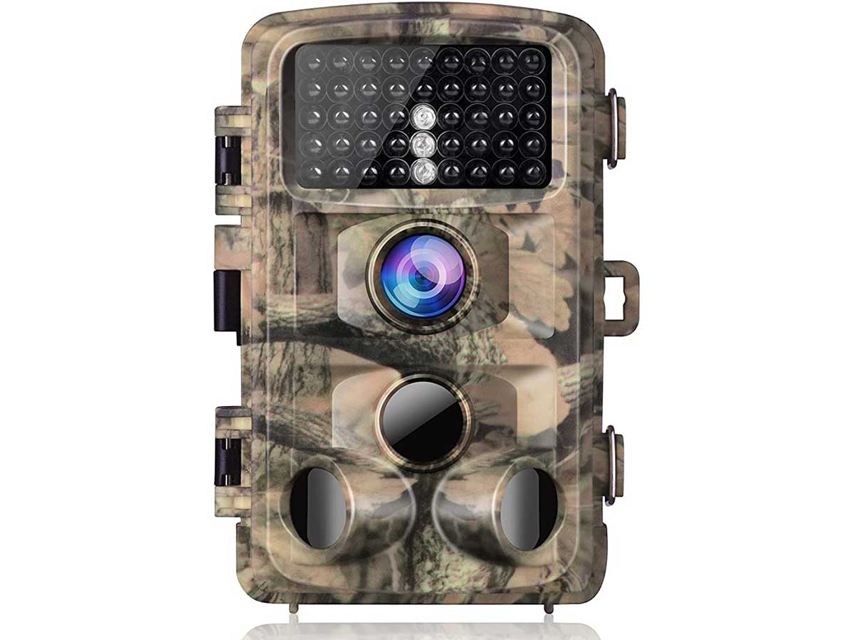 Campark Trail Camera-Waterproof 16MP 1080P Game Hunting Scouting Cam with 3 Infrared Sensors for Wildlife Monitoring