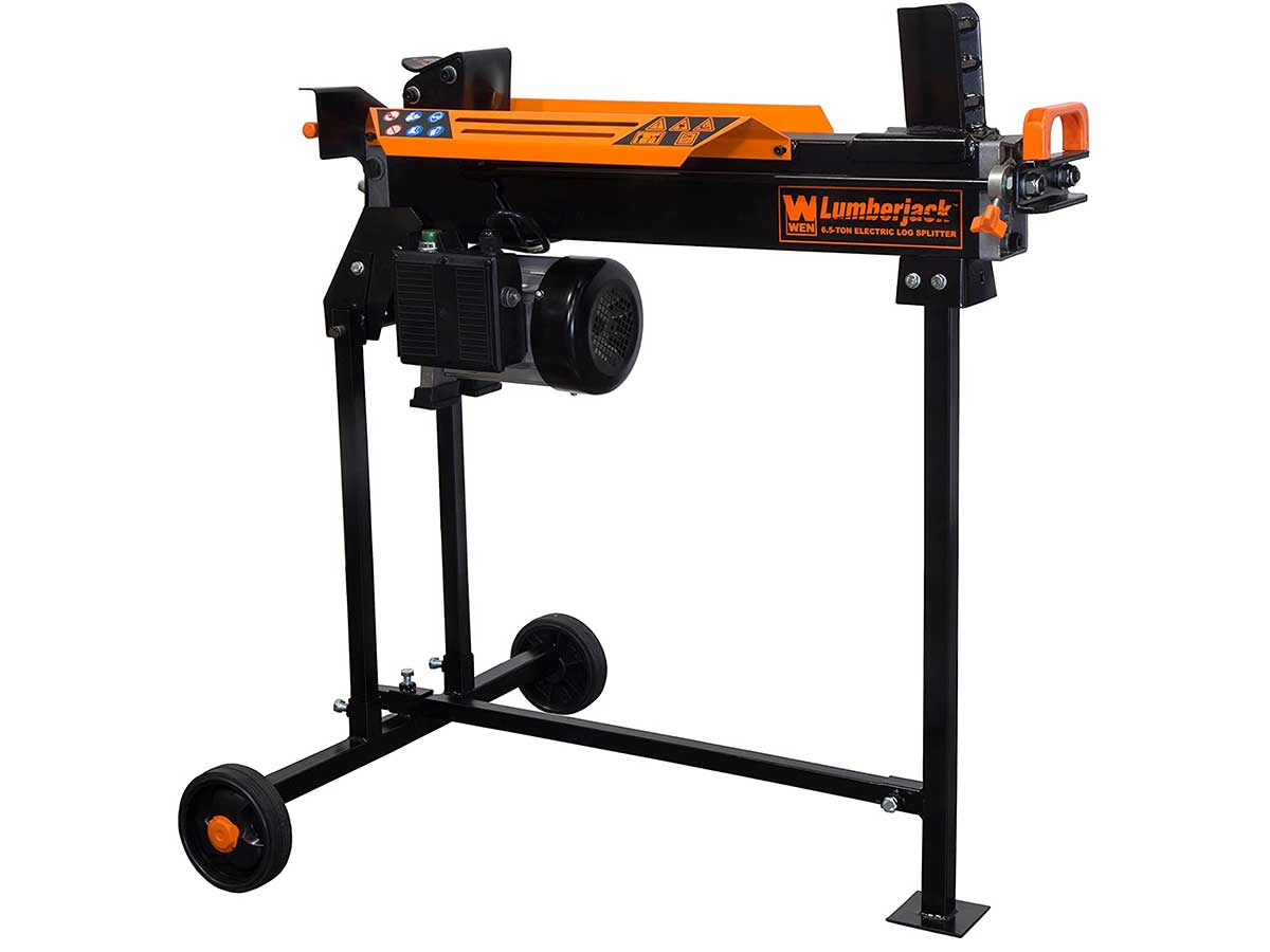 WEN 56207 6.5-Ton Electric Log Splitter,Black