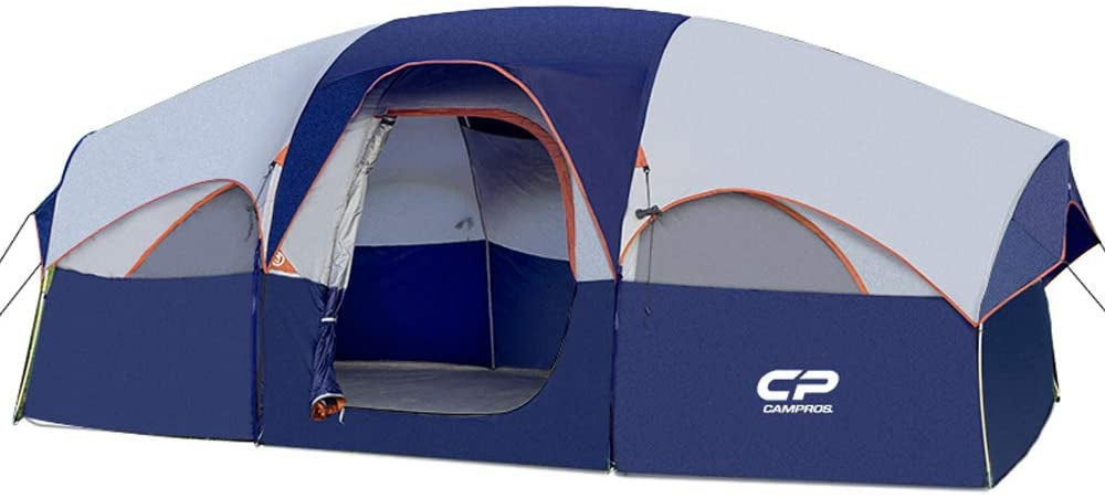 HIKERGARDEN CAMPROS Tent-8-Person-Camping-Tents