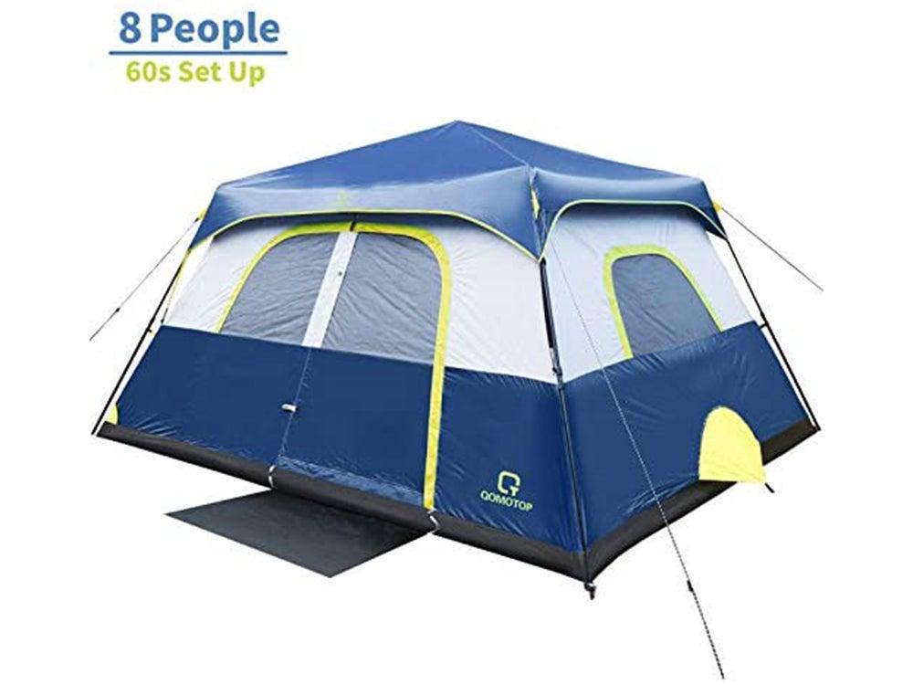 OT QOMOTOP Tents, 4/6/8/10 Person 60 Seconds Set Up Camping Tent