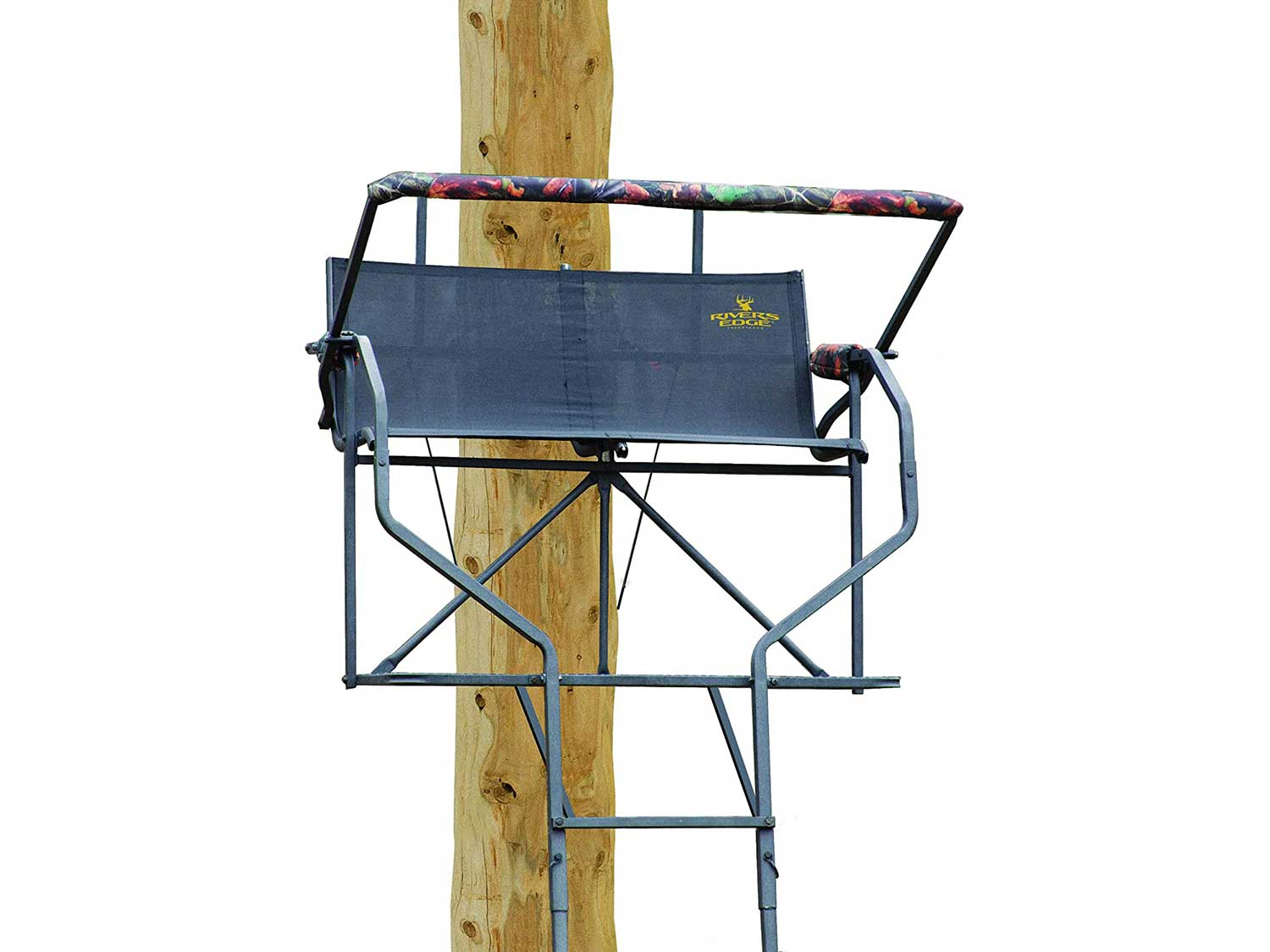 Rivers Edge RE634 Relax 2 Man Ladder Stand,Black