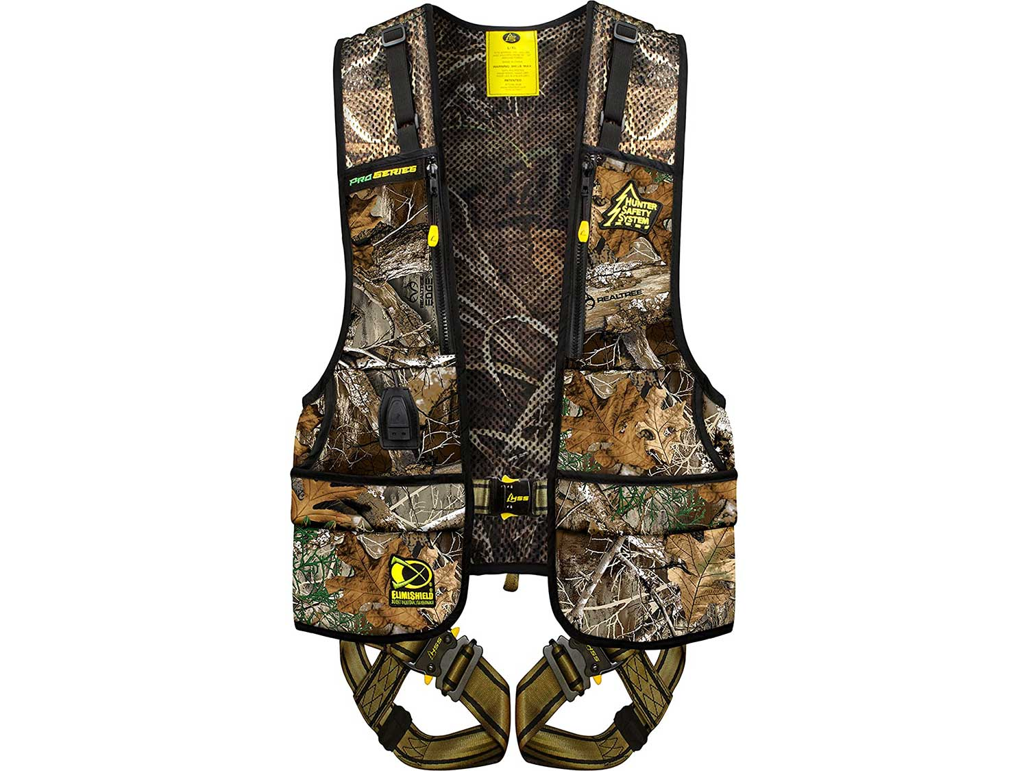 Hunter Safety System Pro-Series Harness with Elimishield Scent Control Technology, Large/X-Large