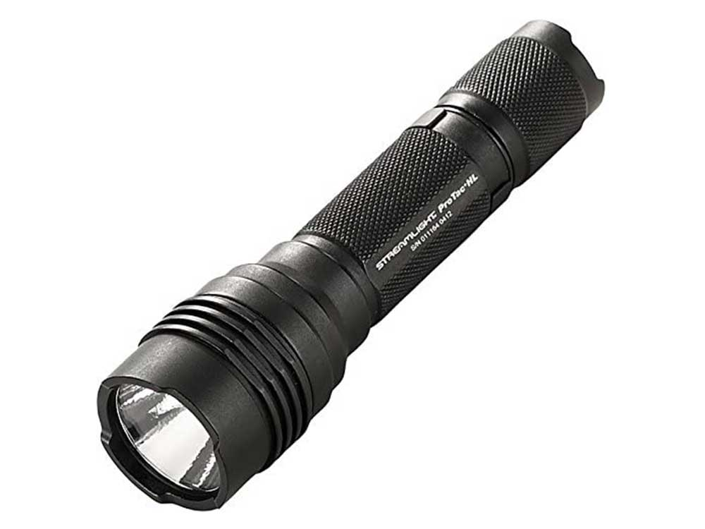 Streamlight 88040 ProTac HL 750 Lumen Professional Tactical Flashlight with High/Low/Strobe w/2 x CR123A Batteries - 750 Lumens,Black