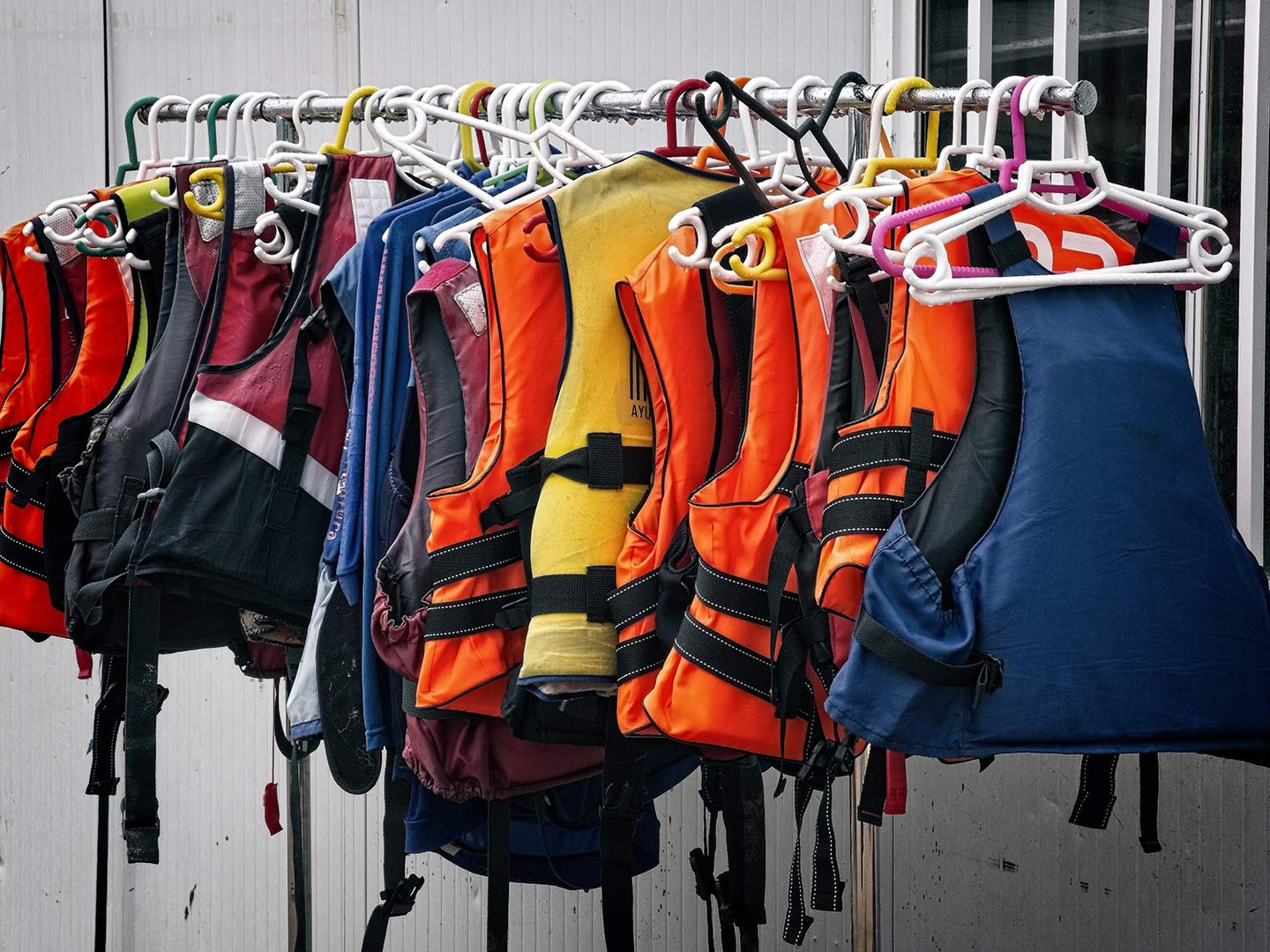 dozens of PFD styles and designs