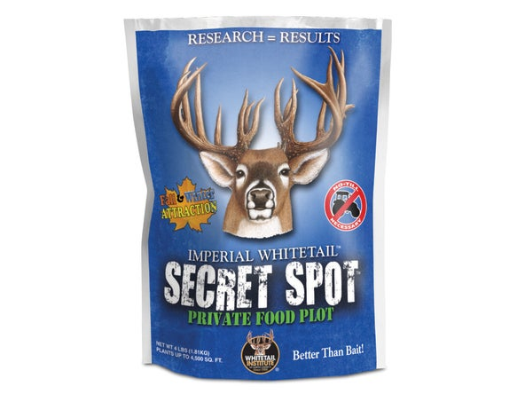 A bag of Whitetail Institute Secret Spot