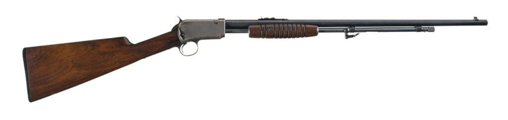 Winchester Model 62 on a white background.