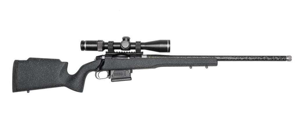 A Proof Elevation MTR rifle on a white background.