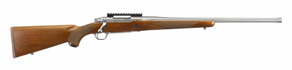 The Hawkeye Hunter rifle on a white background.