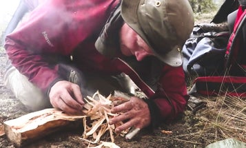 How to Start a Survival Fire in the Rain