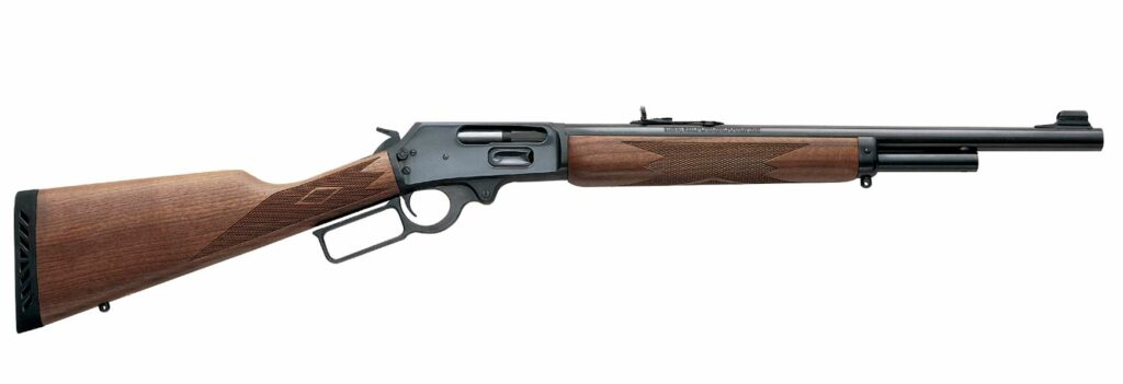 The Marling 1895G rifle on a white background.