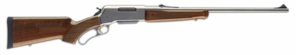 The Browning BLR Rifle on a white background.