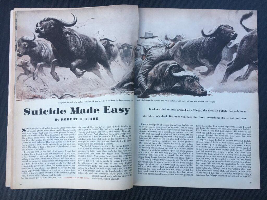 cape-buffalo-art