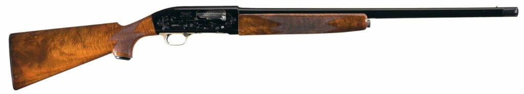 The Winchester Model 59 on a white background.
