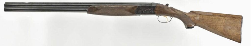 The Berretta BL O/U gun on a white background.
