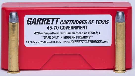 box of Garrett Cartridges and bullets.